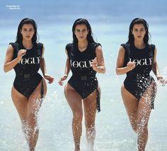 """[align=center]Kim Kardashian: [/align] Découvrez de nouvelles photos pour la couverture du numéro de Février du magazine """"[i]Vogue [/i]Australie."""" [align=right][size=14px]On aime?[/size][/align]"""