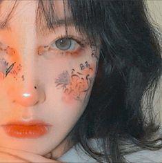 Cute Makeup, Pretty Makeup, Makeup Art, Aesthetic Makeup, Aesthetic Girl, Dibujos Tumblr A Color, Korean Makeup Look, Korean Short Hair, Korean Girl Photo