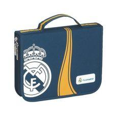 Foto Estuche plumier portatodo grande 45 piezas escolares Real Madrid. Real Madrid, Grande, Shopping, Zippers, Pictures