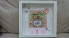 Baby girl picture gift