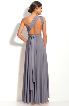 Twobirds Stone Grey Convertible Jersey Bridesmaid Dress Would Love In This Or Navy Blue