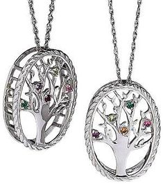 eba7072eeafd 55 Best Family Tree Birthstone Necklace images in 2019