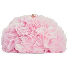 Blue by Betsey Johnson Fluff Clutch ($52) ❤ liked on Polyvore featuring bags, handbags, clutches, purses, pink, accessories, blush, pink hand bags, pink handbags and party clutches