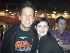 Pierre Bouvier and I. :)