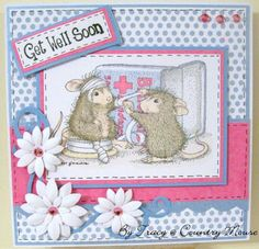 Dr Amanda - a new House Mouse stamp... Country Mouse