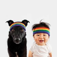 "Zoey and Jasper ""A RESCUE DOG AND HER LITTLE BOY "" by Grace Chon. http://www.pinterest.com/petmoods/zoey-and-jasper-a-rescue-dog-and-her-little-boy/"