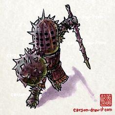 Dark Souls - The Knight of Thorns