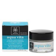 aqua vita 24 hour moisturizing cream for oily/combination skin