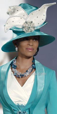 Donna Vinci Couture Church Hat H1392