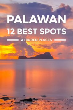 12 Best Places to Visit in Palawan for First-Timers https://www.detourista.com/guide/palawan-best-places/ Where to go in Palawan? This travel guide blog takes you to top tourist spots, best places to visit, must-see attractions & beautiful places for 2017.