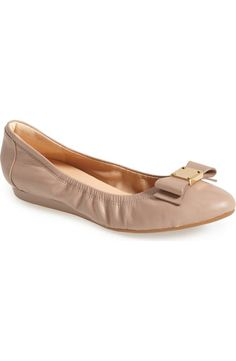 7a1bf12f4bd1 Cole Haan  Tali  Bow Ballet Flat (Women)