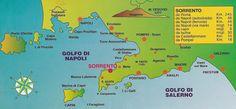 ... Positano, Pompei and the islands of Capri and Ischia. Click the maps