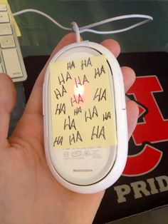 Could probly get the most annoying guy at work to struggle with his mouse, would be funny!