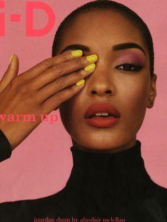 a-state-of-bliss:  I-D Magazine Winter 2011 - Jourdan Dunn by Alasdair McLellan