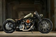 "thezainist: "" 1976 Harley-Davidson Custom shovelhead bobber chopper """