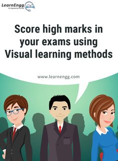"Score high marks in your exams using Visual learning methods. To know more, read our blog post ""How to Increase Your Employability: Tips for Engineering students"" [Click on the image] ‪#learnengg‬ ‪#engineering‬ ‬#skills"