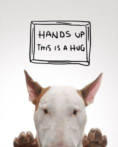 Hands up, this is a hug