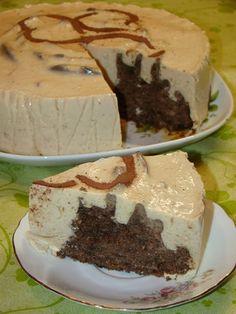 Cristina's world: Tort Dukan cu iaurt si ness Dukan Diet, Raw Vegan, I Foods, Deserts, Food And Drink, Pudding, Sweets, Cookies, Healthy