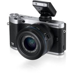 Samsung   NX300 Mirrorless Digital Camera with 20-50mm F/3.5-5.6 ED II Lens (Black)