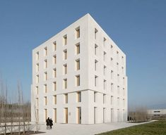 Hyper Sustainable Office Building without heating, cooling or ventilation systems, Austria, by Baumschlager Eberle