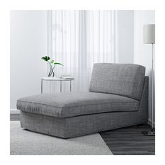 KIVIK Récamiere - Isunda grau - IKEA