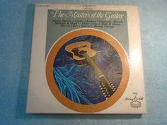7 RECORD SET / Guitar Albums / Spanish Guitar Albums / Classical Guitar Albums / Vinyl Records / by Montyhallsshowcase on Etsy