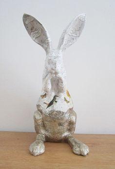 Rabbit Sculpture. Just A Regular Spring Day.