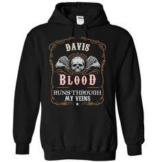 "Limited Edition ""DAVIS blood"" Shirt"