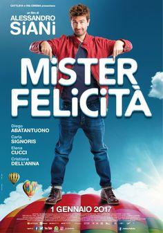 Mister Felicità, il nuovo film di Alessandro Siani, dal 1° gennaio 2017 al cinema.