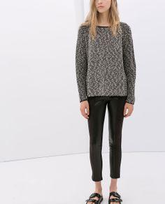 COMBINED LEGGINGS from Zara