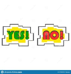 yes no vector - Google Search Voting System, Yes, Google Search, Logos, A Logo, Legos