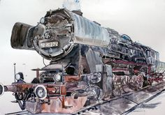 Trans Siberian Railway, Train Art, Rail Car, Train Engines, Steam Engine, Steam Locomotive, Train Travel, Transportation, Engineering