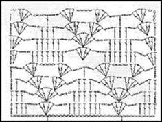 PATRONES=GANCHILLO = CROCHET = GRAFICOS =TRICOT = DOS AGUJAS: GRAFICOS=CROCHET=GANCHILLO= PUNTO FANTASIA