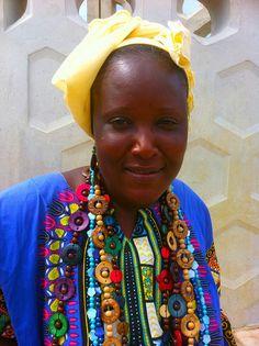Senegal - Woman from Goree Island