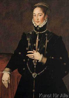 Sir Anthonis van Dashorst Mor - Bildnis der Gräfin Las Navas
