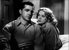 Dana Andrews & Alice Faye in Preminger's Fallen Angel (1945)