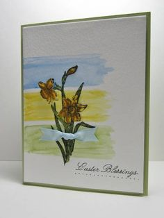 Triple Challenge Easter Blessings by nancy littrell - Cards and Paper Crafts at Splitcoaststampers