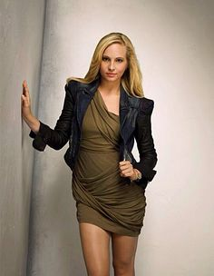 """Women Of """"The Vampire Diaries"""" : Caroline Forbes played by Candice Accola Candice Accola, Vampire Diaries Season 2, Vampire Diaries Fashion, Caroline Forbes, Nina Dobrev, The Cw, Modest Homecoming Dresses, Hollywood Actress Photos, Candice King"""