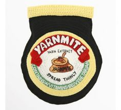Crocheted (Mostly English) Food, and Some Bug Specimens by Kate Jenkins Crochet Food, Crochet Art, Crochet Patterns, Crochet Ideas, Marmite, English Food, Textile Artists, Soft Sculpture, Knitting Projects