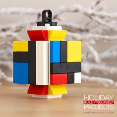 Holiday Build-it-Yourself 2013: The Mondrian. Get the guide at http://chrismcveigh.com
