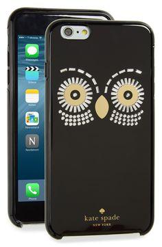 kate spade new york 'owl' iPhone 6s Plus case = $50