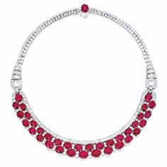 RUBY AND DIAMOND NECKLACE - Sotheby's