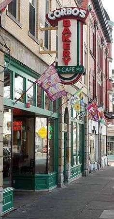 The Little Italy Neighborhood of Cleveland, Ohio, Corbo's Bakery Cannoli. Cleveland Rocks, Cleveland Ohio, Cincinnati, Columbus Ohio, Bar Lounge, The Buckeye State, Little Italy, Lake Erie, Best Location