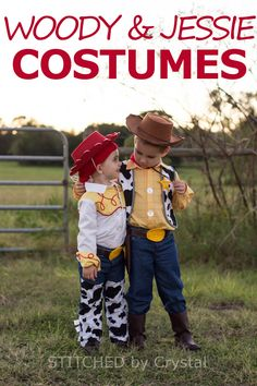 Halloween 2015 - Woody and Jessie
