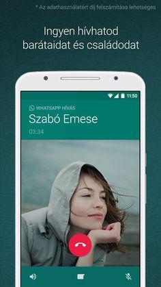 WhatsApp Messenger – képernyőfelvétel