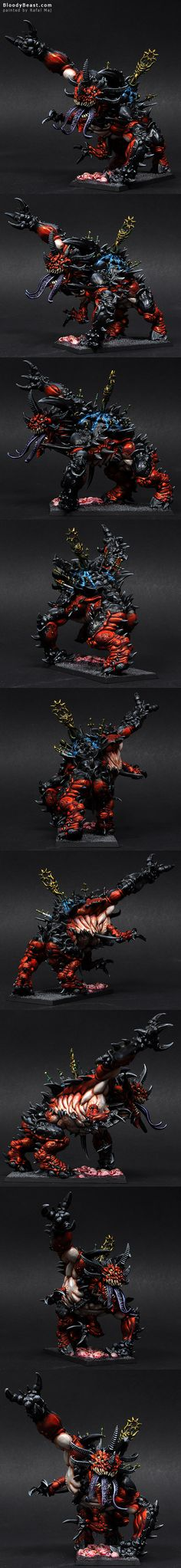 Chaos Slaughterbrute painted by Rafal Maj (BloodyBeast.com)