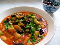 white bean vegetable stew