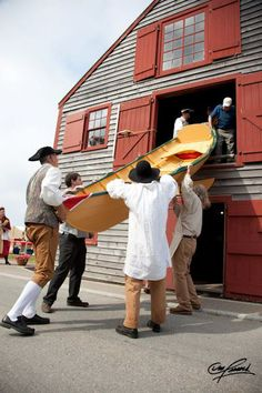 Dory Shop Museum - Shelburne's Historic Dock Street, Shelburne, NS Learn of Shelburne's Dory making history, see a dory being built and take part in helping too! Coming this summer -  whirligig making workshops!  http://www.historicshelburne.com