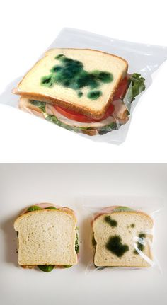Anti-Theft Sandwich Bags...fake mold will deter those annoying coworkers