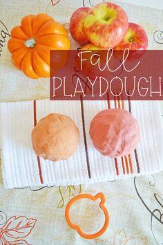 Fall Playdough
